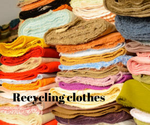 Recycling clothes?